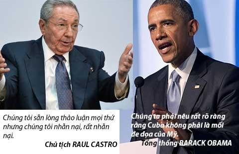 Ngày lịch sử của Obama và Castro - ảnh 2