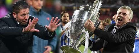 Simeone mưu mô hơn Ancelotti - ảnh 1