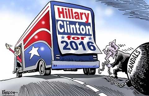Ba mạnh, ba yếu của bà Hillary - ảnh 1
