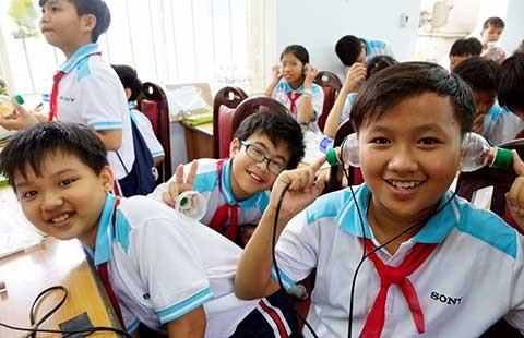 Sony Việt Nam: Đánh thức đam mê khoa học trong mỗi trẻ em Việt - ảnh 1
