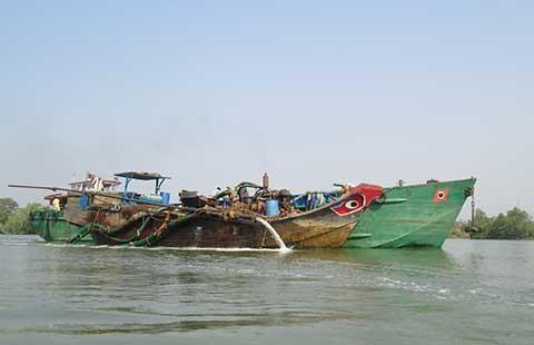 Đồng Nai: Tạm dừng dự án nạo vét sông Đồng Kho - ảnh 1