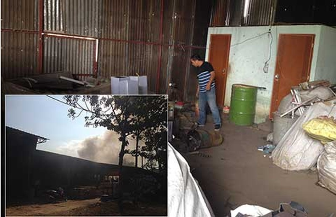 Khó dời kho phế liệu dễ cháy ở Đồng Nai - ảnh 1