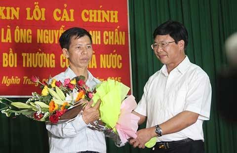 Tòa Tối cao xin lỗi ông Nguyễn Thanh Chấn  - ảnh 1
