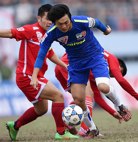 Vòng 10 V-League: Tranh nhau rớt hạng - ảnh 1