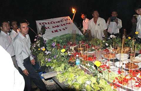 Kỷ niệm 40 năm ngày giải phóng Trường Sa - ảnh 1
