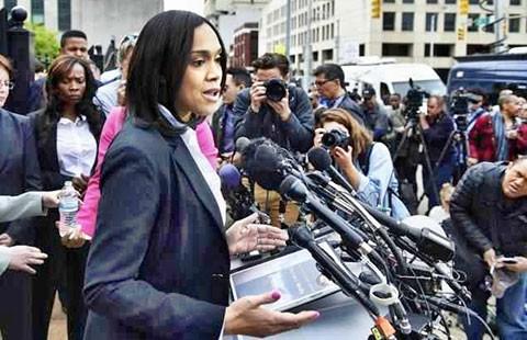 Nữ công tố anh hùng ở Baltimore - ảnh 1