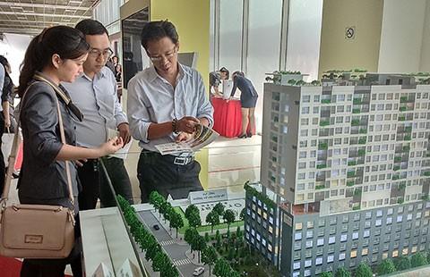 Giao dịch bất động sản tăng mạnh - ảnh 1