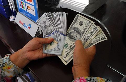 Giữ USD không lợi bằng VND - ảnh 1