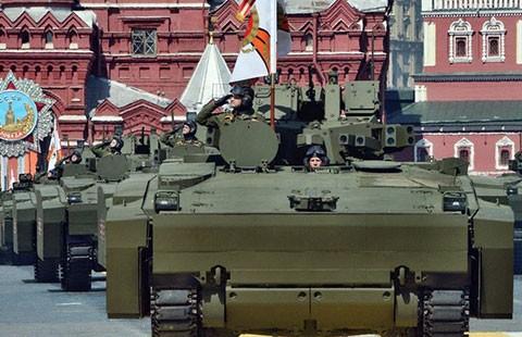 Nga duyệt binh trên Quảng trường Đỏ - ảnh 3