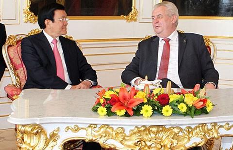 Tăng cường hợp tác Việt Nam - Cộng hòa Czech - ảnh 1