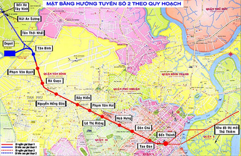 Di dời gần 800 hộ dân để xây metro số 2 - ảnh 1