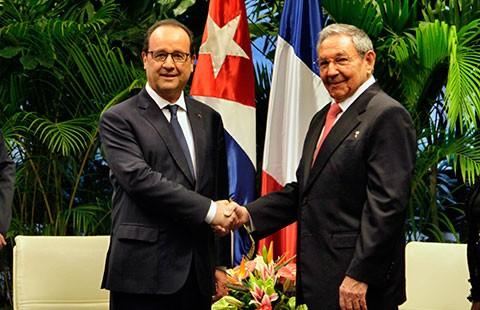 Cú đúp ngoại giao của tổng thống Pháp - ảnh 1