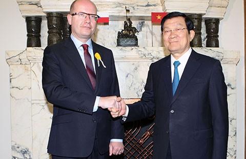 Việt Nam là đối tác ưu tiên của Czech  - ảnh 1