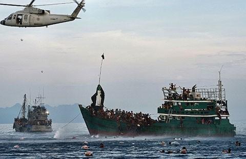 Myanmar tẩy chay hội nghị về người tị nạn - ảnh 1