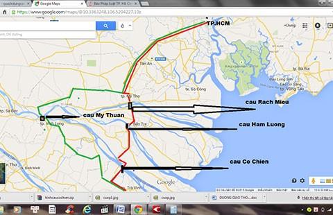 Cầu Cổ Chiên: Rút ngắn 70 km từ TP.HCM đi Trà Vinh  - ảnh 1