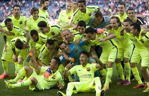 La Liga: Cúp về Nou Camp! - ảnh 1