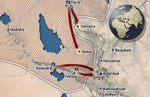 Vì sao Ramadi rơi vào tay Nhà nước Hồi giáo? - ảnh 1