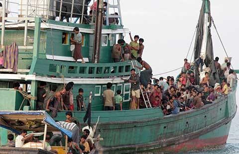 Malaysia và Indonesia: Người tị nạn đã có nơi cập bến  - ảnh 1