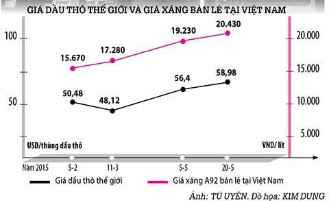 Giá xăng tăng: Điều hành thuế bất hợp lý - ảnh 2