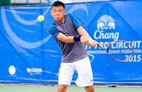 Tay vợt Lý Hoàng Nam bỏ SEA Games, chọn đấu trường trẻ thế giới - ảnh 1