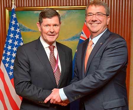 Mỹ, Nhật, Úc ra tuyên bố chung phản đối Trung Quốc - ảnh 1