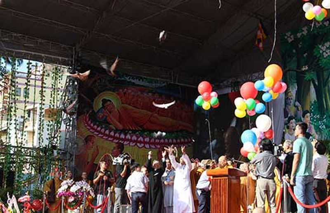 Đại lễ Phật đản: Cầu quốc thái dân an - ảnh 1