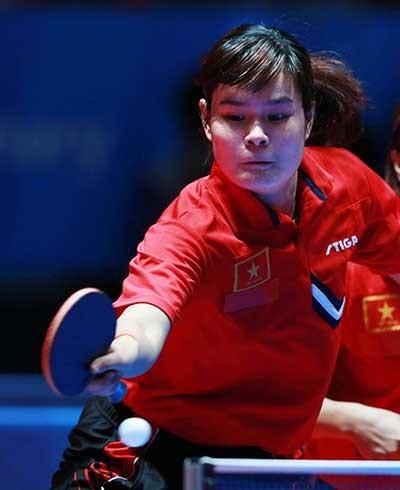 Bóng Bàn: Nguyễn Thị Nga xuất thần hạ tay vợt hạng 101 thế giới - ảnh 1