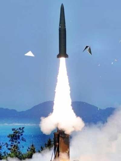 Hàn Quốc bắn thử tên lửa đạt tầm bắn 500 km - ảnh 1