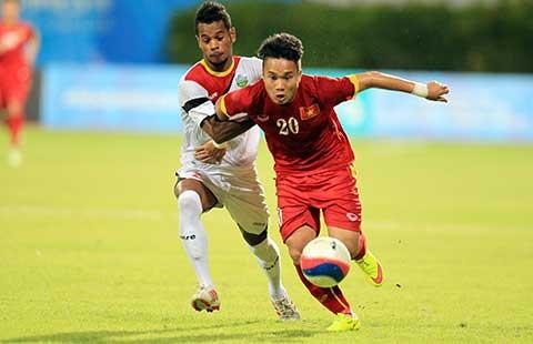 U-23 VN – U-23 Đông Timor (4-0): Lấy lại ngôi đầu - ảnh 1