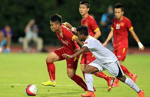 U-23 Việt Nam - U-23 Myanmar: Thả bóng bắt mồi - ảnh 1