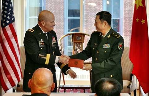 Trung Quốc đề nghị Mỹ tập trận chung  - ảnh 1