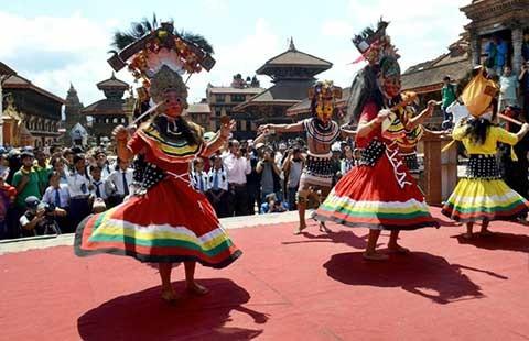 Nepal mở cửa các di tích trở lại - ảnh 1