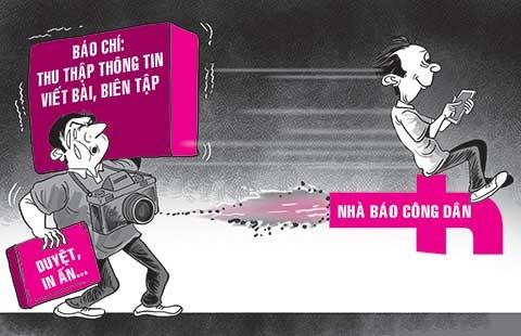 Nhân ngày Nhà báo Việt Nam 21-6: Thách thức với nghề báo từ mạng xã hội - ảnh 1