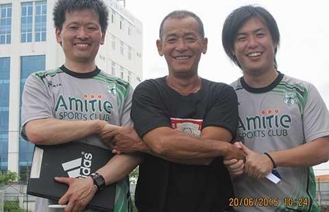 Giám đốc Amitie-SC TP.HCM Kitaguchi: '2020 sẽ lên chơi V-League!' - ảnh 1