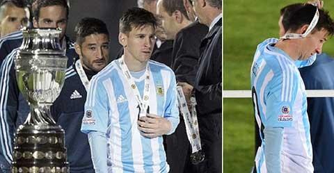 Chung kết Copa America: Lịch sử chống lại Messi - ảnh 1