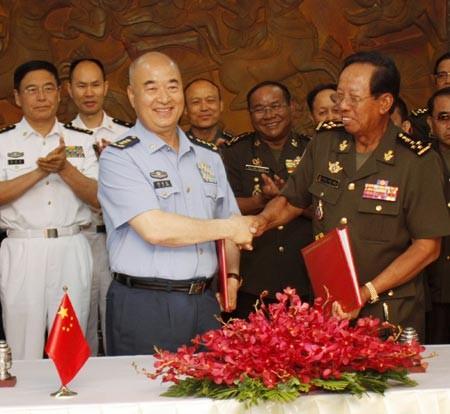 Phái đoàn quân sự Campuchia đến Trung Quốc, vì sao?  - ảnh 1