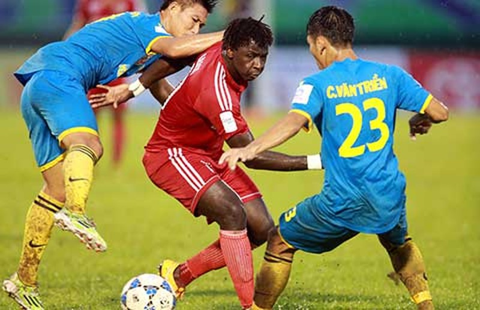 Vòng 16 V-League: Thanh Hóa lên ngôi đầu, HAGL thua nặng - ảnh 1
