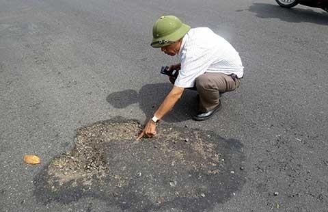 'Quốc lộ 1A bị phá có chủ đích' - ảnh 1