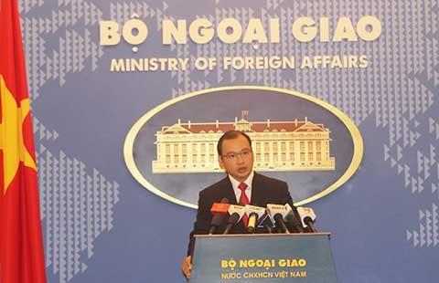 Phản đối hành động của Trung Quốc ngăn cản ngư dân Việt Nam  - ảnh 1