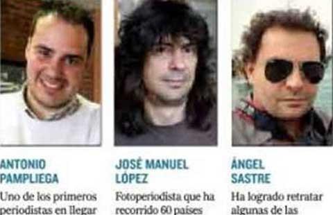 Đặc vụ Tây Ban Nha truy tìm ba nhà báo - ảnh 1
