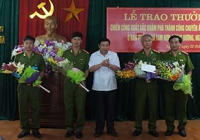Vụ thảm sát ở Nghệ An: Mâu thuẫn bột phát, dùng dao giết người - ảnh 1