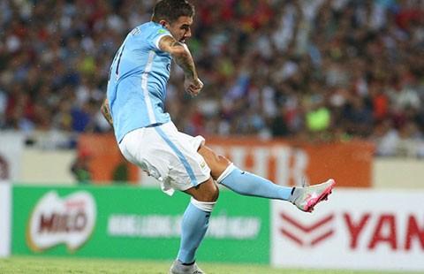 VN - Manchester City (1-8): Mưa gôn ngoạn mục! - ảnh 1