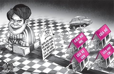 Luật phải 'trói' được tài sản tham nhũng  - ảnh 1
