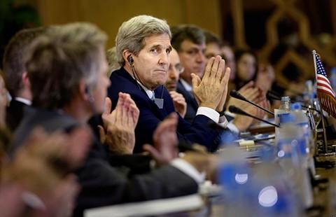 Ngoại trưởng Mỹ du thuyết Trung Đông - ảnh 1