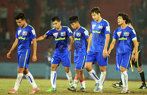 Vòng 20 V-League: Dìm nhau dưới đáy bảng - ảnh 1
