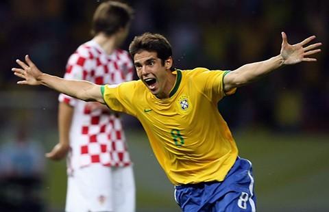 Kaka tái xuất trong màu áo Brazil - ảnh 1