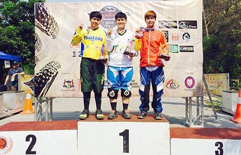 Tay đua Quàng Thị Soan giành HCĐ châu Á - ảnh 1