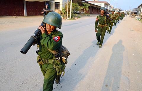 Căng thẳng vùng biên Myanmar-Trung Quốc  - ảnh 1
