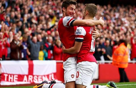 Arsenal - Liverpool: Trận thứ 100 của Giroud - ảnh 1
