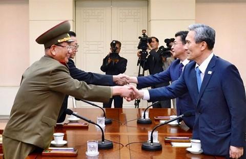 Đàm phán liên Triều bên bờ vực chiến tranh - ảnh 1